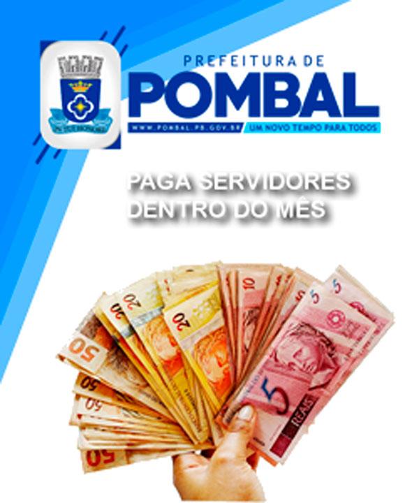 Prefeitura de Pombal paga servidores dentro do mês trabalhado ... 4cdc3323a8e0b