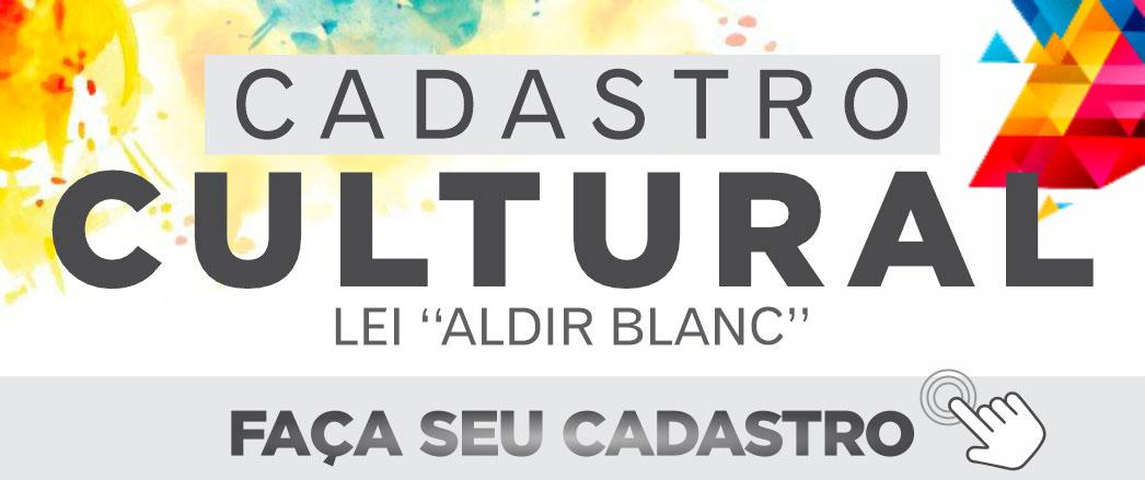 Cadastro cultural - Leia Aldir blanc